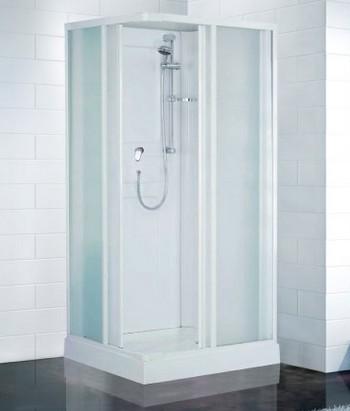 Cabines de douche ottofond rimini carrelage cabine de for Prix cabine douche