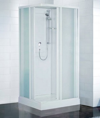 Cabines de douche ottofond rimini carrelage cabine de for Prix cabine de douche