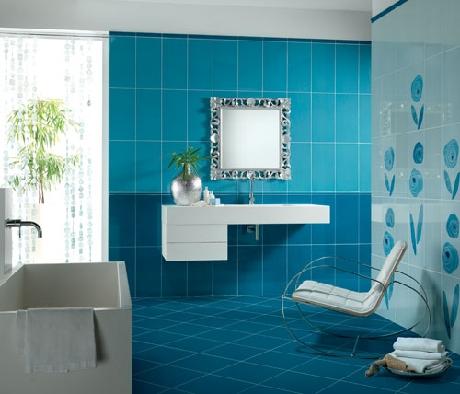 Faïence salle de bain - DOM Carrelage faïence moderne FAÏENCES