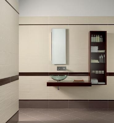Faience salle de bain dom serie millerighe plane 20x50 2 - Faience salle de bain discount ...
