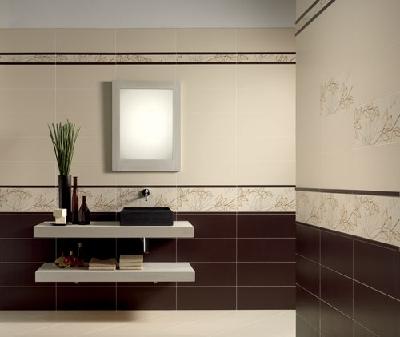 Faience salle de bain dom serie solid 20x50 2 1 choix for Faience salle de bain beige et marron
