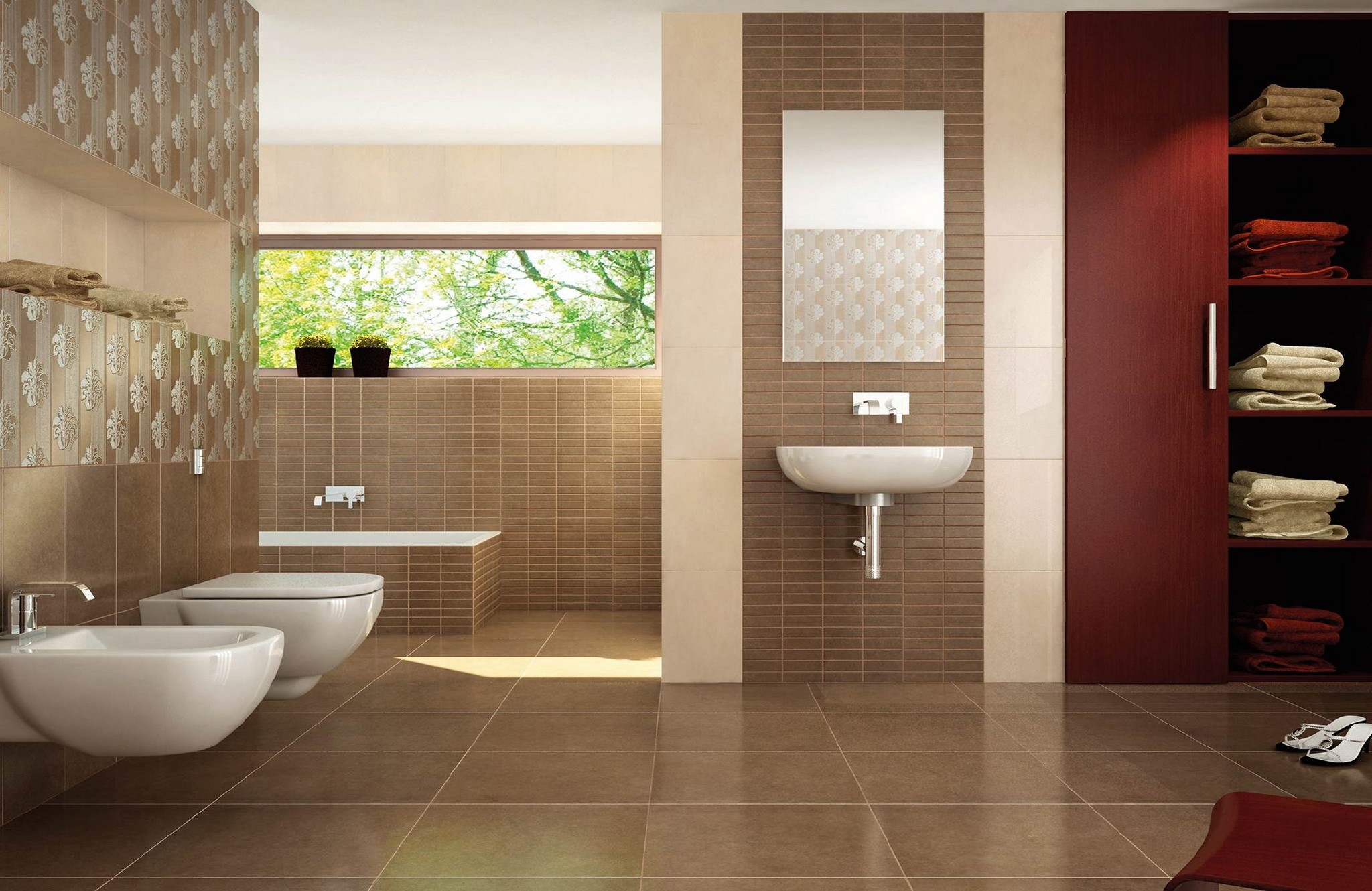 Faience salle de bain cifre serie boston 25x40 1 choix for Choix carrelage salle de bain