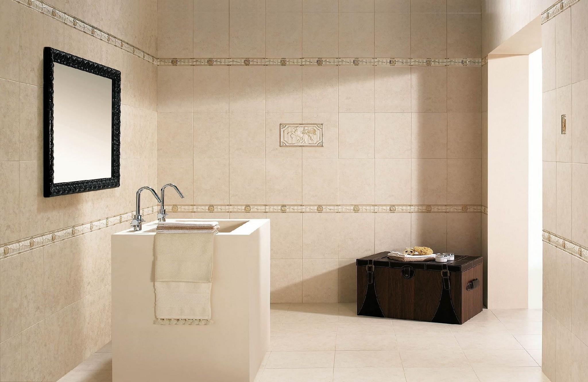 Faience rustique carrelage faiences for Budget salle de bain 10m2