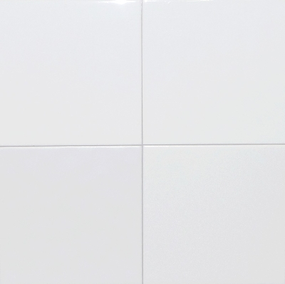 Carrelage fa enc blanc 10 5x10 5 for Carrelage faience blanc