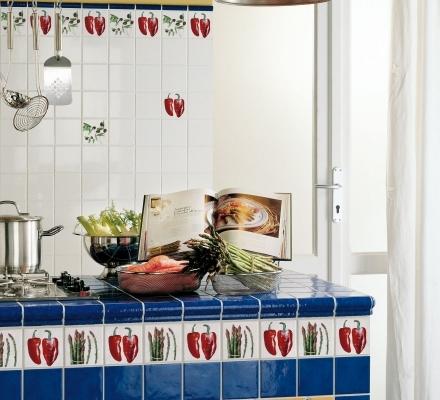 Fa ence cuisine carrelage fa ences - Carrelage cuisine 10x10 ...