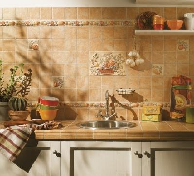 Faience cuisine 10x10 serie palio di siena 1 choix for Decoration faience pour cuisine