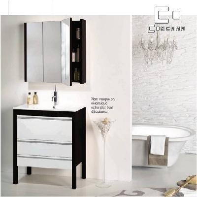 Meuble de salle de bain coycama s rie ancora 80 cm for Meuble 80 cm de hauteur