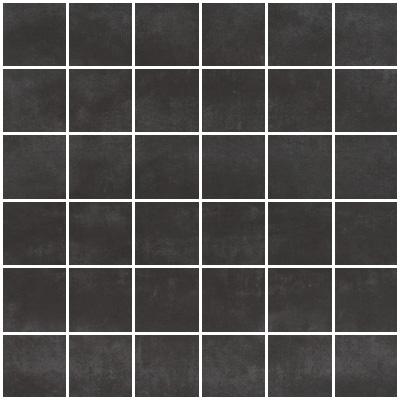 carrelage 5x5 noir
