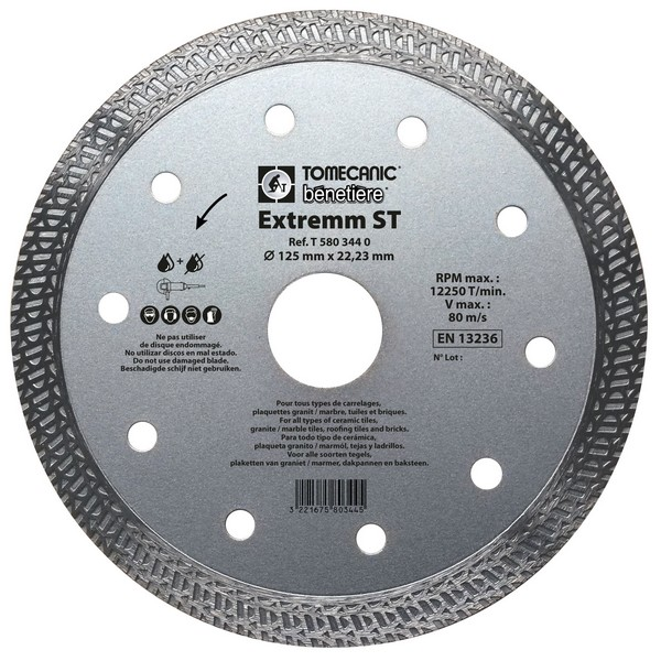 Disque EXTREMM ST 125 mm