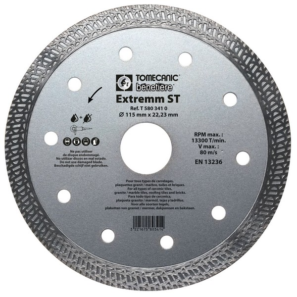 Disque EXTREMM ST 115 mm