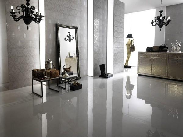 Carrelage LEONARDO Serie Luxury X Choix Carrelage Carrelage - Carrelage gris brillant