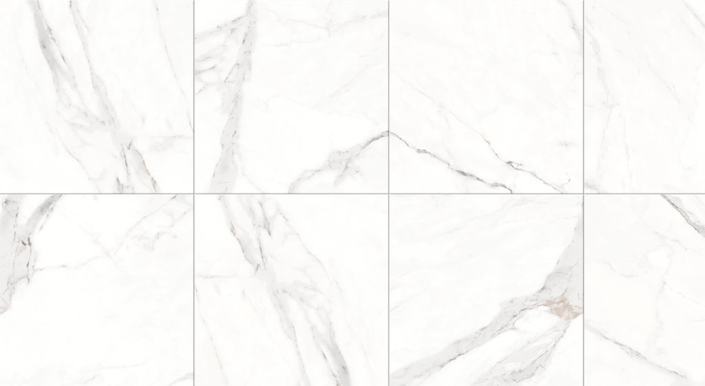 TO BE MARBLE STATUARIO NATURALE RETT 60X60 - Boite de 1.08 m2