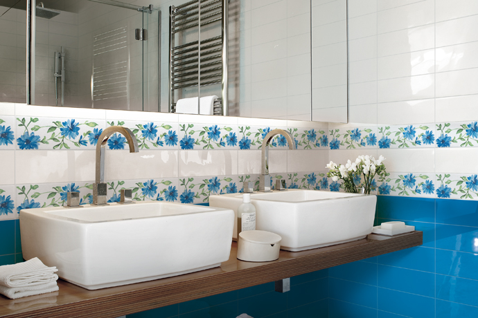 Faience armonie s rie colors 10x30 1 choix carrelage - Faience salle de bain discount ...