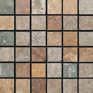MOSAICO 4.7X4.7 MIX SCURO 30X30 - Boite de 6 Pcs