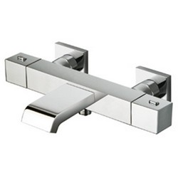BAIN DOUCHE THERMOSTATIQUE CHROME