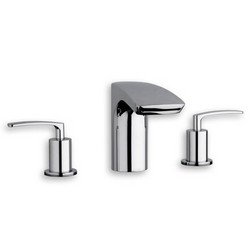 LAVABO 3 TROUS CHROME
