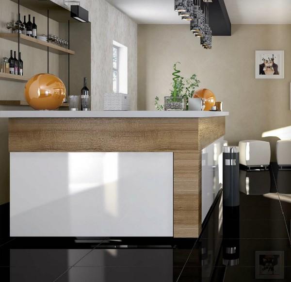 Carrelage mo da serie bright levigato 30x60 1 choix - Carrelage cuisine noir brillant ...