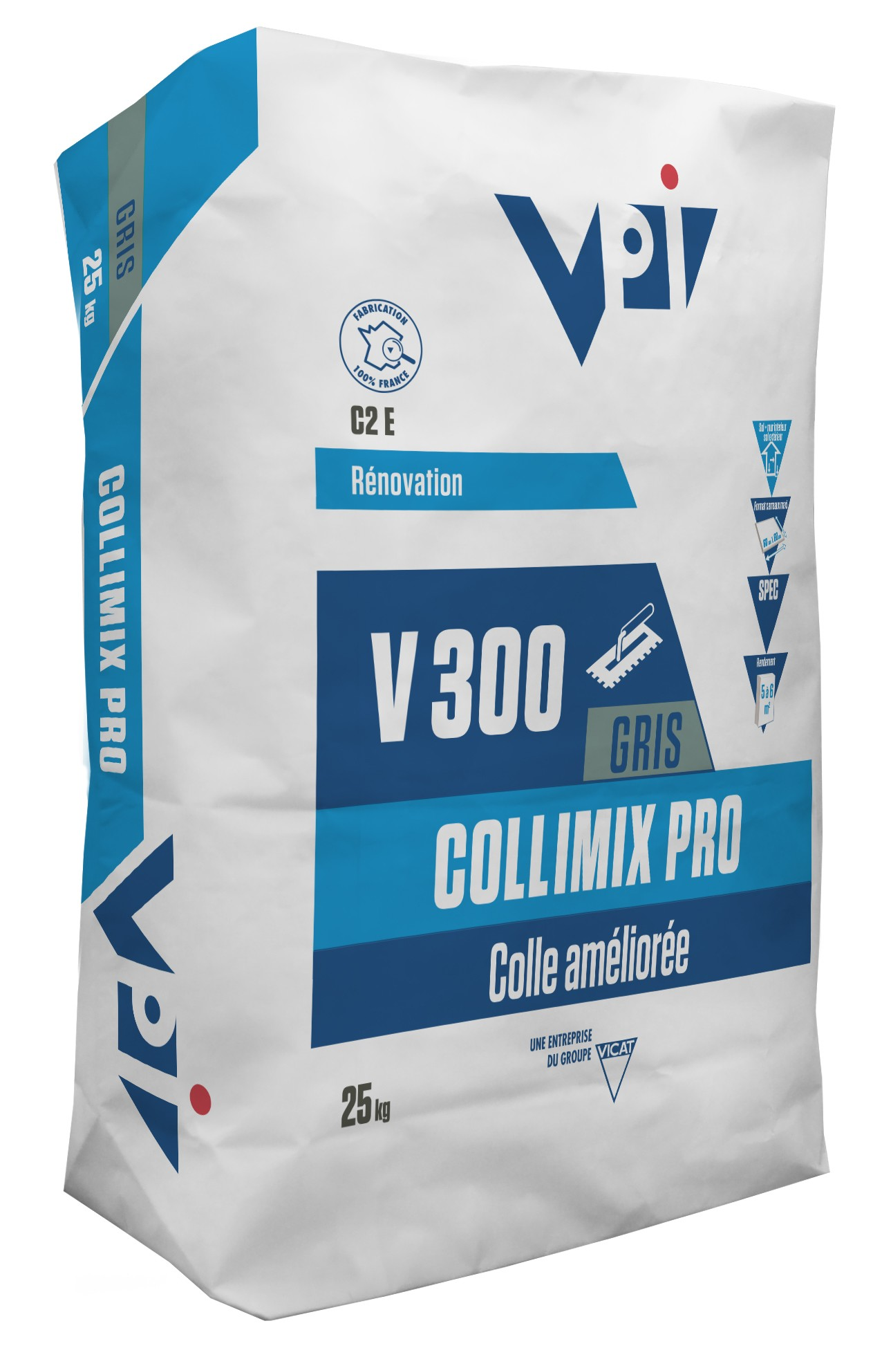 Colle Carrelage Collimix Eco 25 Kg Carrelage Colle Carrelage Vpi Colles Et Fournitures Colle Carrelage