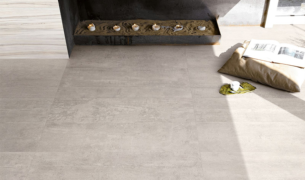 Carrelage provenza s rie re use concrete 45x90 1 choix for Carrelage 45x90