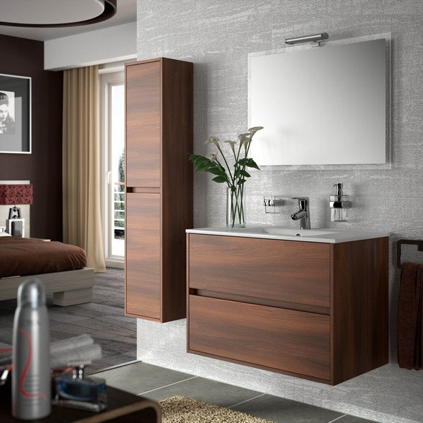 meuble de salle de bain salgar s rie noja 90 cm carrelage meuble salle de bain salgar salle de. Black Bedroom Furniture Sets. Home Design Ideas