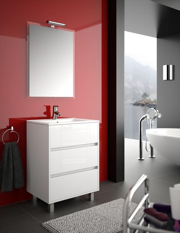 Meuble de salle de bain SALGAR - série Arenys 60 cm