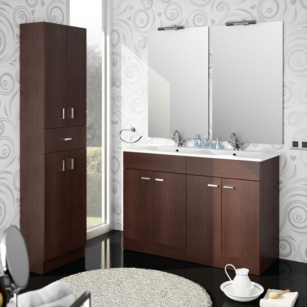 meuble de salle de bain salgar s rie motril 120 cm. Black Bedroom Furniture Sets. Home Design Ideas