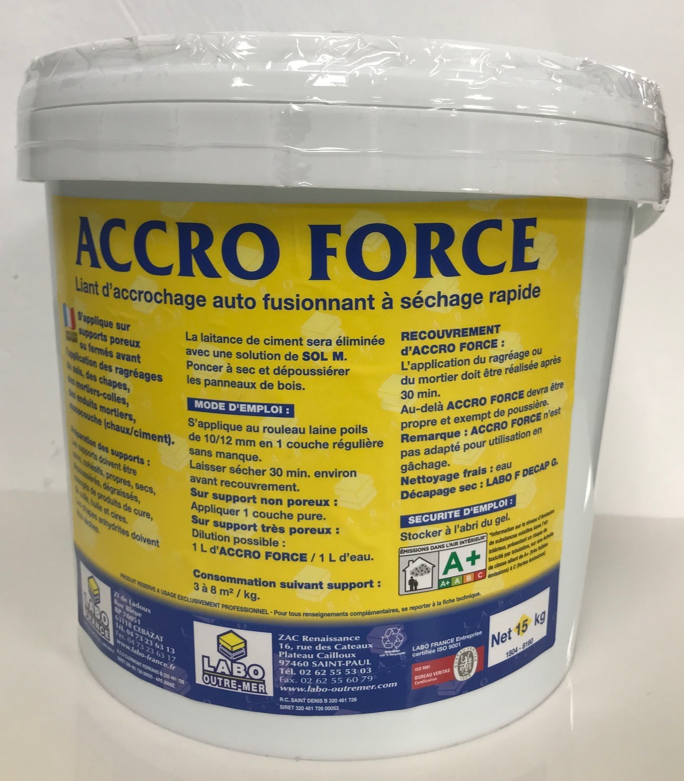 Colle carrelage - LABO FRANCE accro force 5 kg - Photo principale