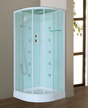 CABINE DE DOUCHE LILO 80 X 80 X 209 CM VERRE SECURIT 4 MM