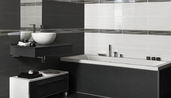 Faience metropol s rie wave 25x50 1 choix carrelage fa ence salle de bain metropol fa ences - Listel carrelage salle de bain ...