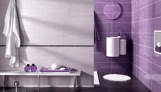 Faience Salle De Bain Moderne Violet : Faïence moderne salle de bain metropol mon carrelage