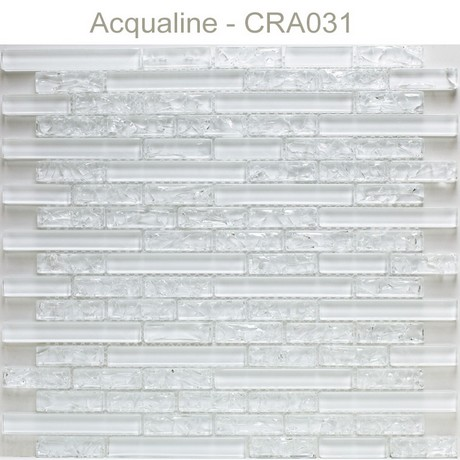 Mosaique verre blanc
