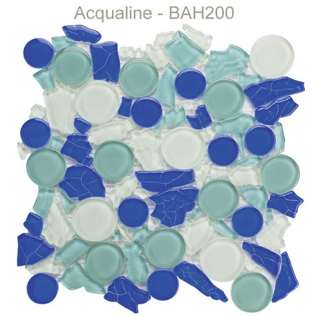 Mosaique verre Bahia plaque 300x300 - acqualine