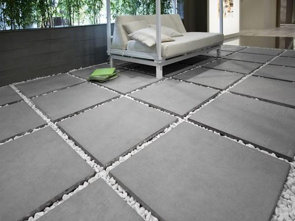 Carrelage delconca serie due halo 2 60x60 1 choix - Pavimentazione giardino in pietra ...