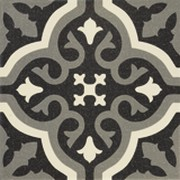 DECOR 20X20 CENTRO FLORENTINE BLACK