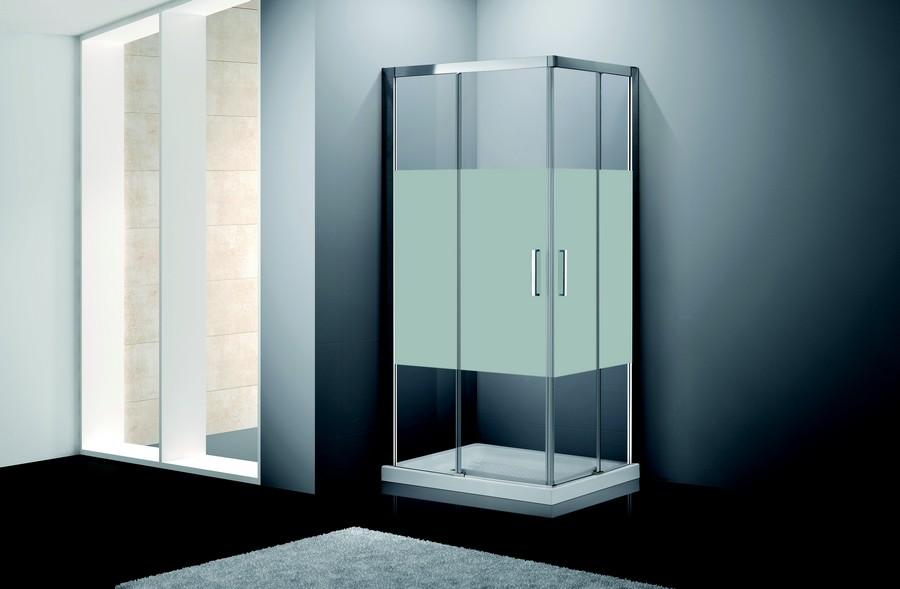 parois de douche s rie confort frost acc s d 39 angle. Black Bedroom Furniture Sets. Home Design Ideas