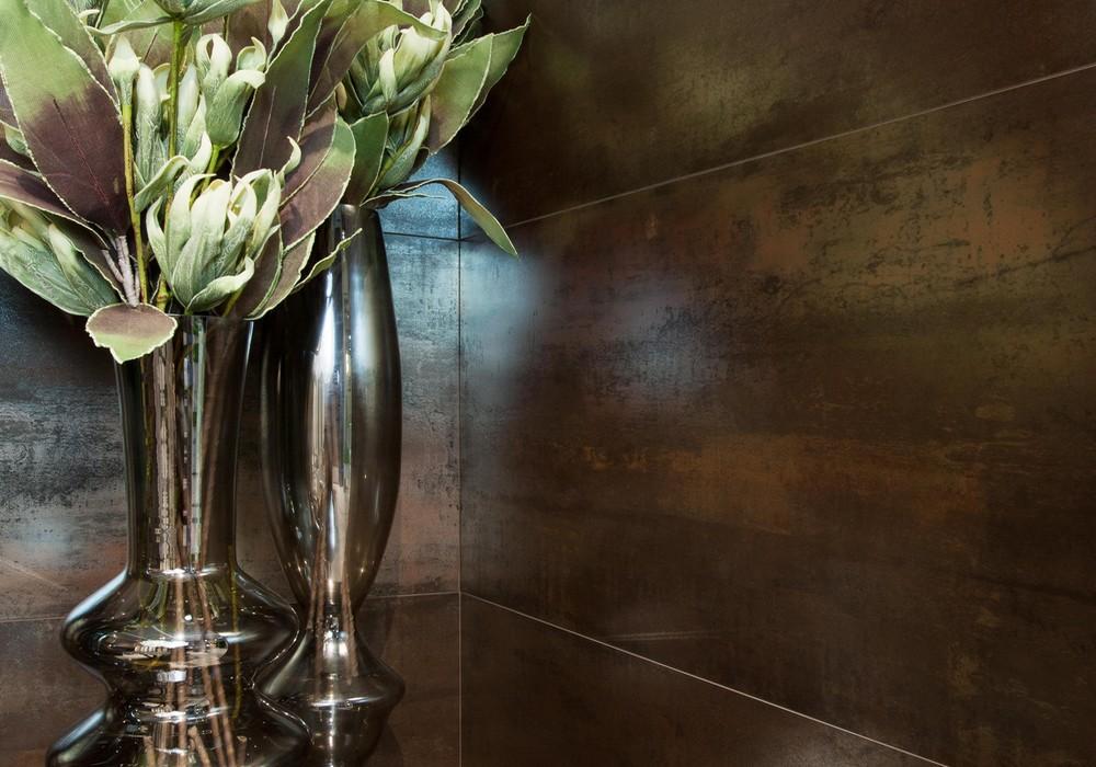 Carrelage tau ceramica serie corten 30x60 et 60x60 1 for Paredes ceramica interiores