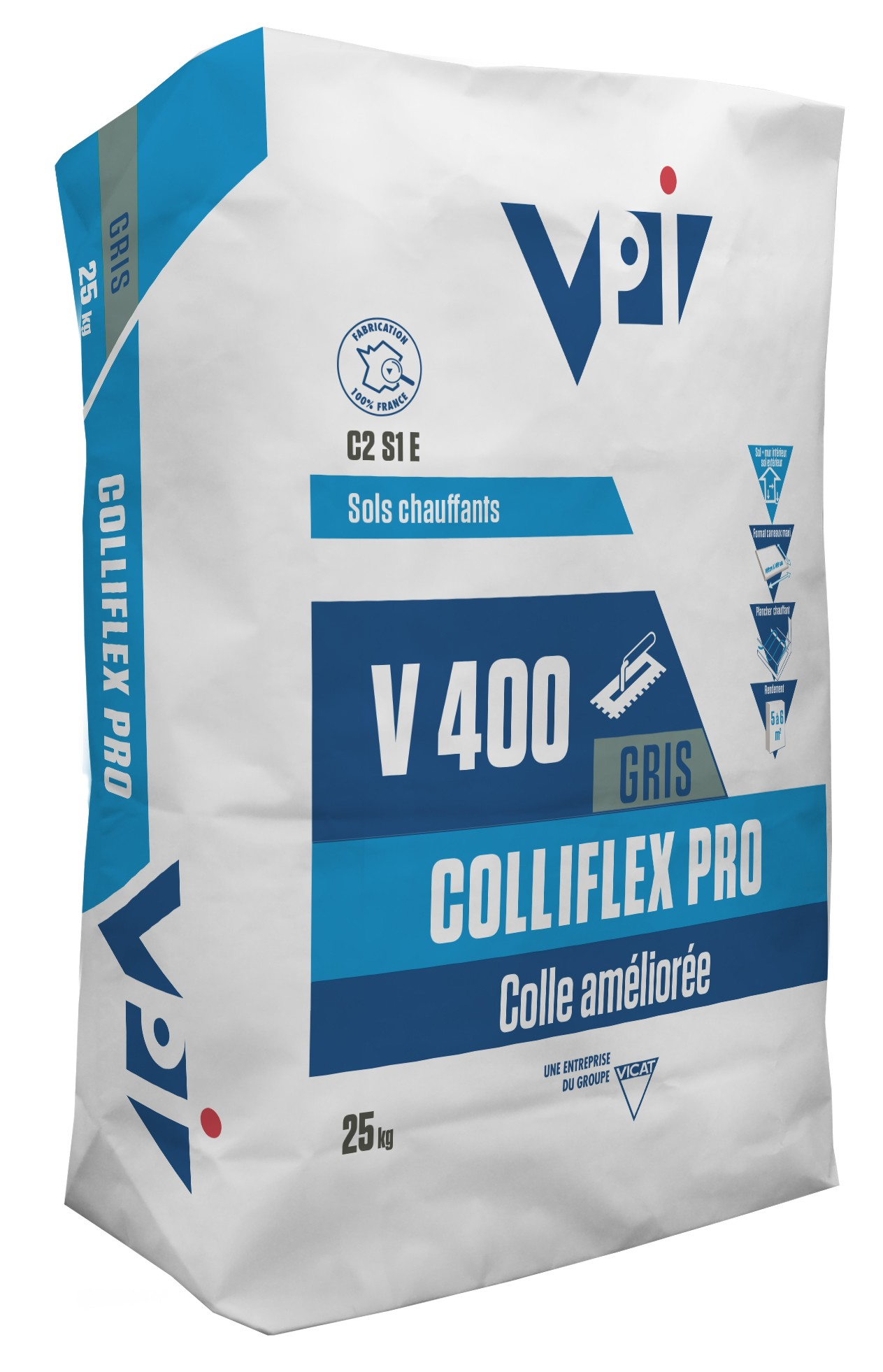 Colle carrelage - COLLIFLEX ECO 25 KG - Photo principale