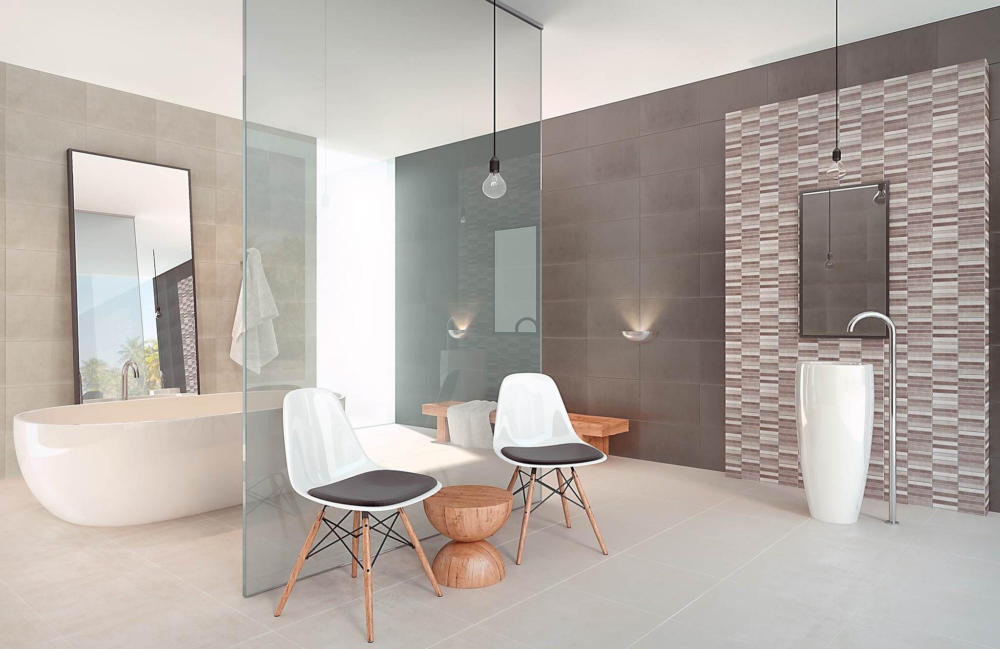 Faience salle de bain cifre   serie modus 25x70 1° choix carrelage ...