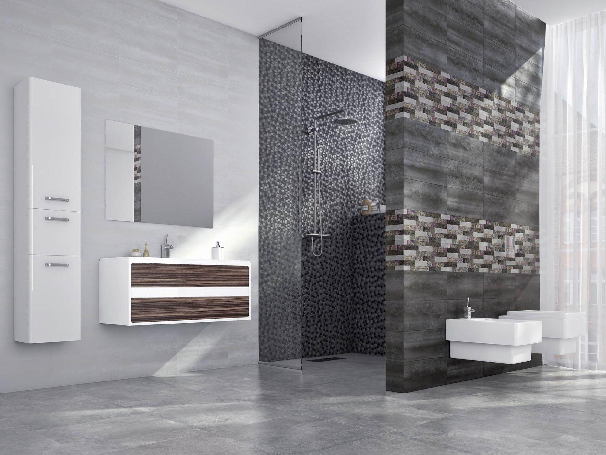 Faience salle de bain cifre serie oxigeno 20x50 1 choix - Faience salle de bain discount ...