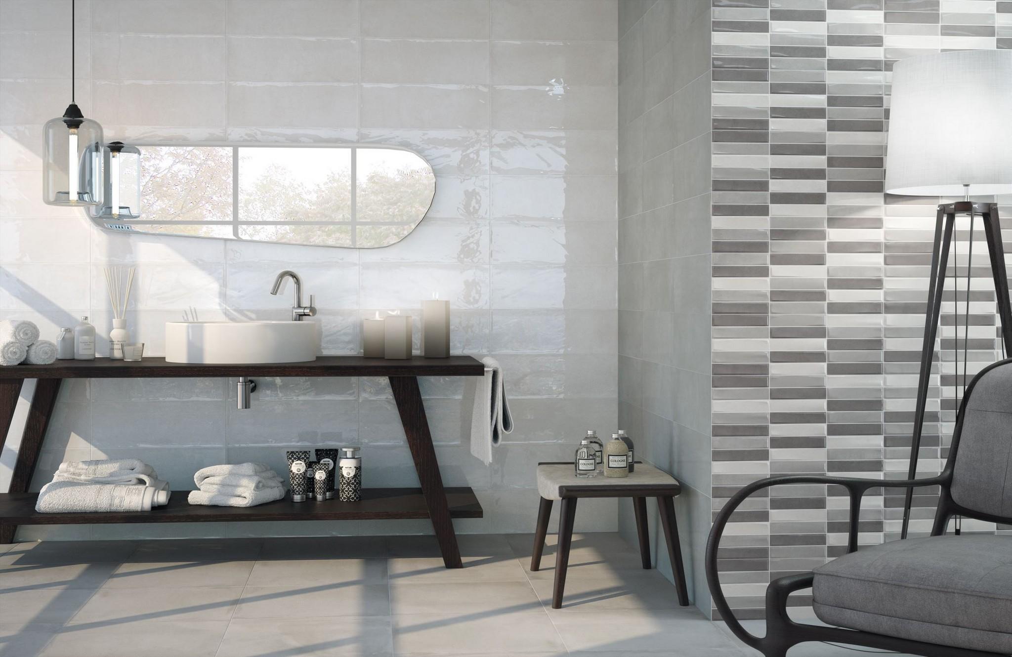 faience salle de bain cifre serie madison 20x50 1 choix - Choix Carrelage Salle De Bain