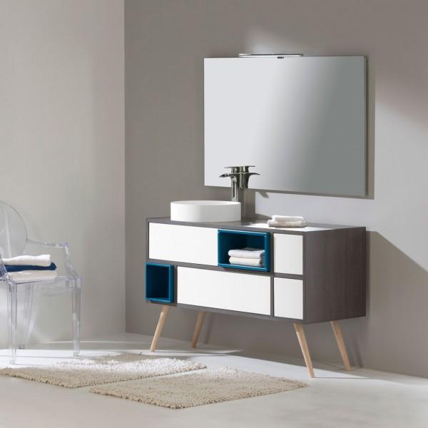 Meuble de salle de bain o 39 design s rie o 39 scandi carrelage meuble salle de bain o 39 design salle - Meuble salle de bain fin de serie ...