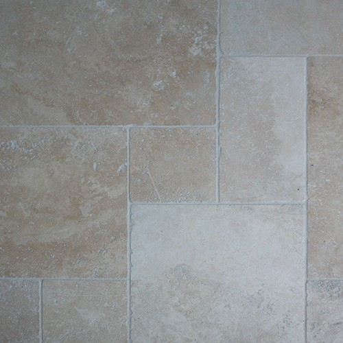Travertin beige light vieilli opus 4 formats 1°choix